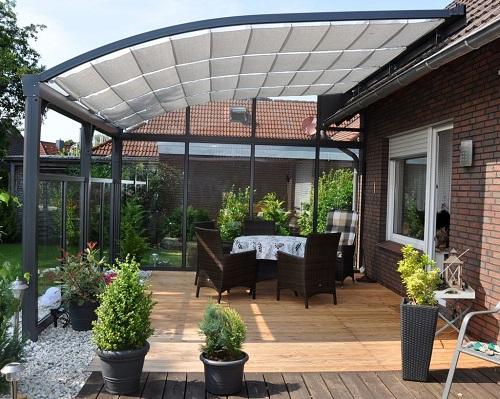 Terrassenuberdachung Alu Glas ~ Terrassenüberdachung mit glas selbst bauen ➤ mit verlegeprofile
