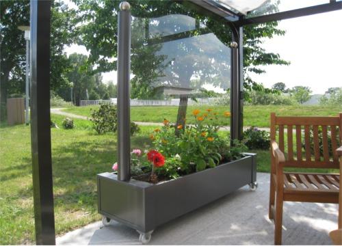 FINK Wintergarten Überdachungen Windschutz Sichtschutz