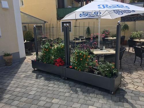 Mobiler Windschutz Terrasse ~ Fink wintergarten Überdachungen windschutz sichtschutz