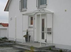 Haustürvordach Mit Seitenteil fink wintergarten aluminiumvordach aluminiumvordächer